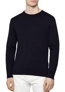 REISS Maurice Cotton Crewneck Sweater