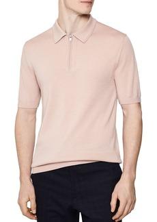 REISS Maxwell Merino Half-Zip Shirt