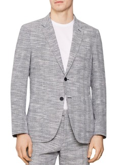REISS Ment Modern Checked Contemporary Fit Blazer