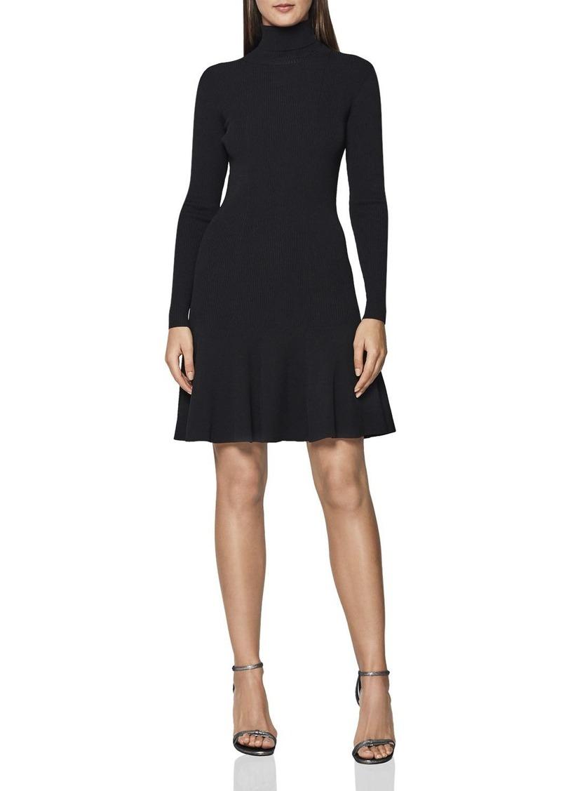 release info on cute top fashion Reiss REISS Mimi Turtleneck Mini Dress | Dresses