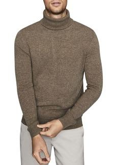 REISS Monty Seam-Detailed Turtleneck Sweater
