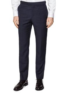 REISS Muffato Textured Regular Fit Pants