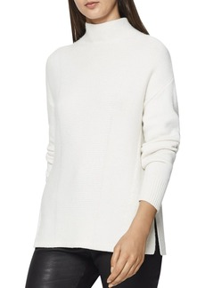 REISS Naomi Funnel-Neck Sweater