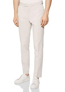 REISS Net Seersucker Regular Fit Trousers