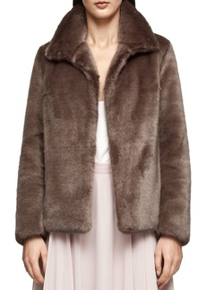 REISS Orsa Faux-Fur Jacket