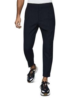 REISS Pape Pinstriped Regular Fit Pants