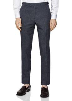 REISS Pavese Textured Slim Fit Pants