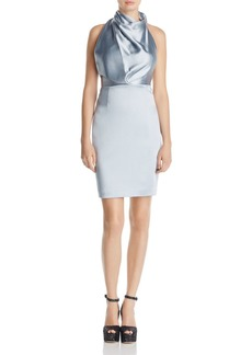 REISS Rana Draped Satin Dress - 100% Exclusive
