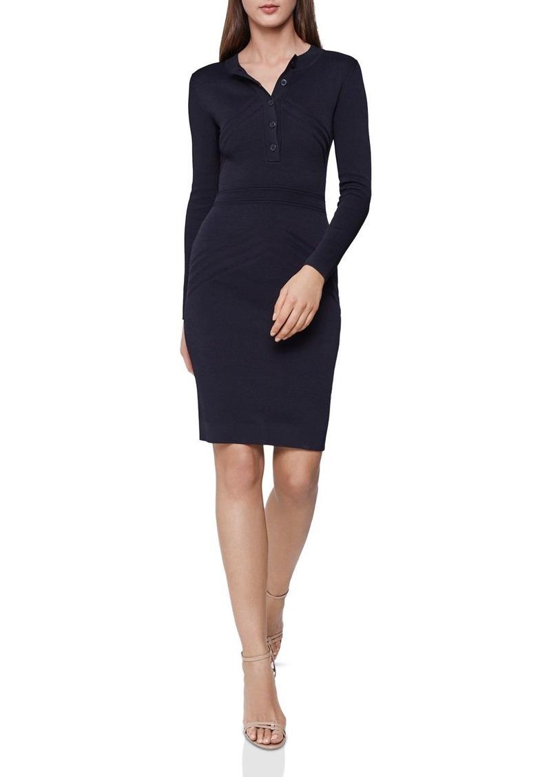 41e09c14853 Reiss REISS Regan Knit Dress