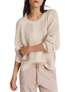 REISS Ria Mesh Sweater