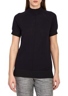 Reiss Rita Wool Short Sleeve Sweater