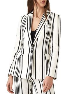 REISS Rodeo Striped Blazer