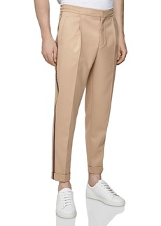 REISS Salmon Tapered Fit Drawstring Trousers