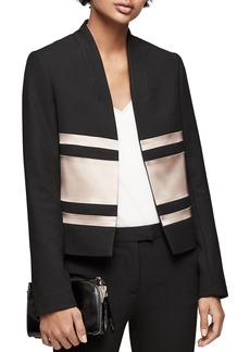 REISS Selda Color-Block Jacket