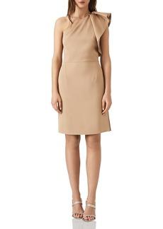 REISS Selika One-Shoulder Dress