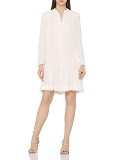 REISS Sylvan Pleated Shirt Dress