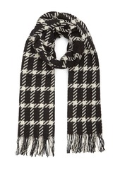 REISS Tempest Large Check Scarf