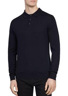 REISS Trafford Merino Wool Polo Sweater