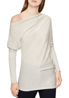 REISS Trudy Draped Off-the-Shoulder Top