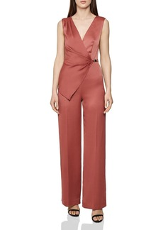 REISS Vita Asymmetric Jumpsuit