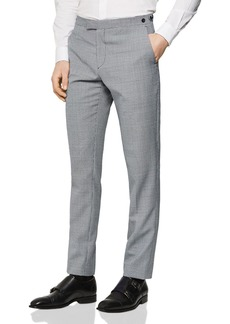 REISS Wangle Check Mixer Slim Fit Trousers