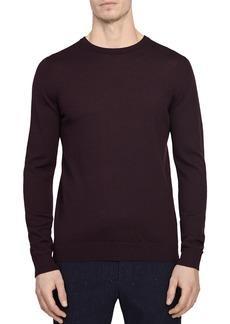 REISS Wessex Merino Wool Crewneck Sweater