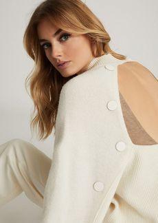 REISS Willow Open Back Sweater