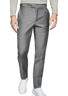 REISS Woking Flannel Slim Fit Trousers