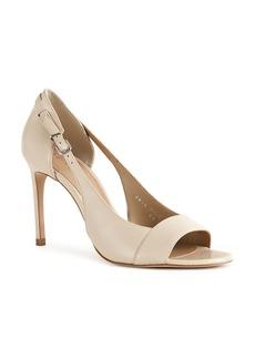REISS Women's Ellen Open Toe Leather High-Heel Sandals