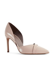 REISS Women's Georgia Patent Leather Crossover High Heel Pumps
