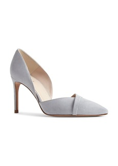 REISS Women's Georgia Suede d'Orsay Pointed Toe Pumps
