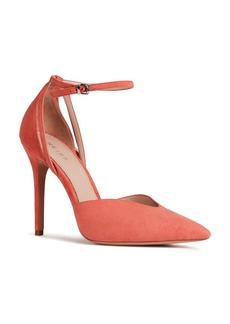 REISS Women's Katya Pointed Toe Suede Pumps