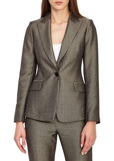 Reiss Zen Shiny Foulard Jacket