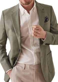Reiss Richie Notch Collar Double Button Jacket