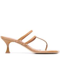 Rejina Pyo Allie 60mm patent leather sandals