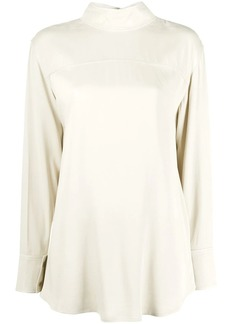Rejina Pyo Allie high-collar shirt
