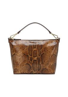 Rejina Pyo Alma Snake Print Leather Top Handle Bag