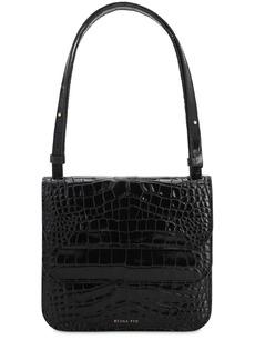 Rejina Pyo Ana Croc Embossed Leather Bag