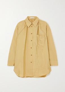 Rejina Pyo Ashley Gathered Crepe Shirt