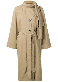 Rejina Pyo bow tie trench coat