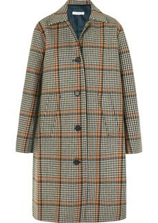 Rejina Pyo Cary Houndstooth Wool-blend Coat