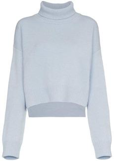 Rejina Pyo cropped turtleneck cashmere jumper