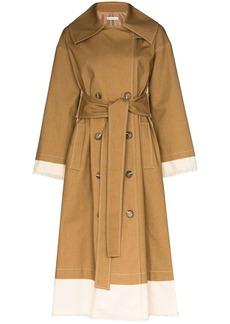 Rejina Pyo Gladys two-tone trench coat