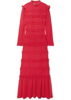 Rejina Pyo Hadley Ruffled Chiffon Maxi Dress