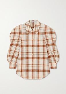 Rejina Pyo Julia Oversized Cotton-blend Poplin Shirt