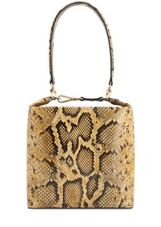 Rejina Pyo Lucie Python Printed Leather Bag