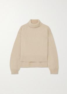 Rejina Pyo Net Sustain Lyn Asymmetric Cashmere Turtleneck Sweater