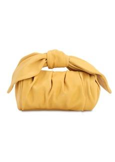 Rejina Pyo Nane Smooth Leather Top Knot Handle Bag
