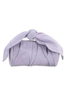 Rejina Pyo Nane Suede Top Knot Handle Bag