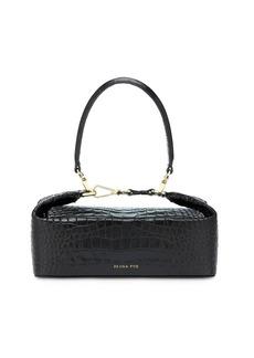 Rejina Pyo Olivia Croc Embossed Leather Bag